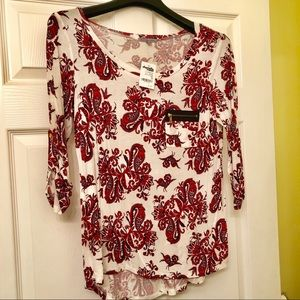 Red Paisley Shirt